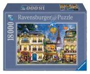 Ravensburger Puzzle Abendspaziergang durch Paris