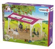 Schleich Reitschule mit Reiterinnen und Pferden (42389)