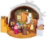 Simba Toys Masha Spielset Winter Bärenhaus