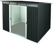 Tepro Metallgerätehaus Pent Roof Skylight 8x6