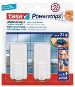 Tesa Powerstrips Haken Large Classic 2 kg