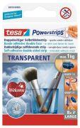 Tesa Powerstrips Transparent Large 8 Stk.