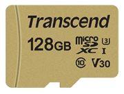 Transcend 500S microSDHC-Card 128GB (TS128GUSD500S)
