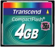 Transcend CompactFlash 266x 4GB