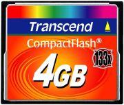 Transcend CompactFlash Card 133x 4GB