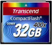 Transcend CompactFlash Card 400x 32GB