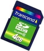 Transcend SDHC 4GB Class 6