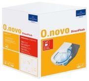 Villeroy & Boch O.Novo Combi-Pack Wand-Tiefspül-WC (5660HR01)