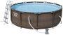 Power Steel Deluxe Stahlrahmen Pool Set 366 x 100 cm (56709)