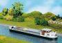 H0 Flussfrachtschiff mit Wohnkajuete 131006
