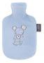 Kinderwärmflasche mit Fleecebezug 0,8 l