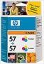 Hewlett-Packard 57 (HP C9503A) Twin-Pack