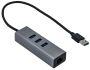 I-Tec USB 3.0 Metal HUB 3 Port + Gigabit Ethernet Adapter (U3METALG3HUB)