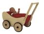 Puppenwagen Trixi komplett Pünktchen rot