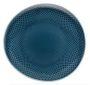 Junto Ocean Blue Teller flach 22 cm