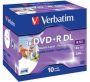 DVD+R DL 8,5GB Wide Inkjet Print 8x 10 Stk. 43665