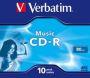 Music CD-R 10 Stk. 43365